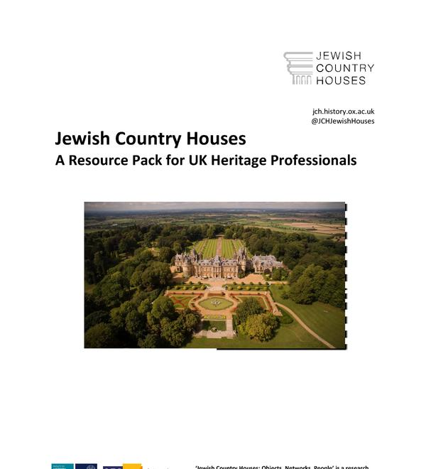 jewish country houses resource pack