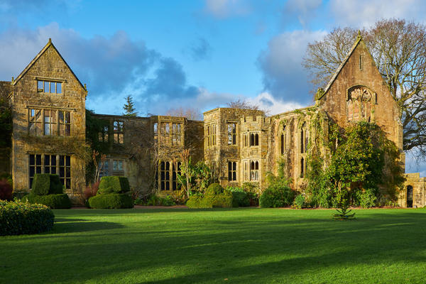 the ruins of the old house in nymans garden west sussex image ref 1569012 © National Trust Images/Gary Cosham