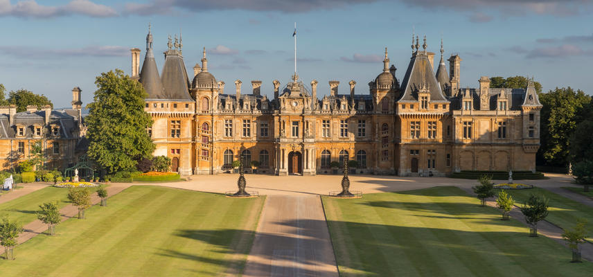 the north front image c national trust waddesdon manor chris lacey