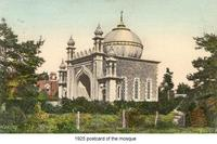 1925 postcard of the mosque