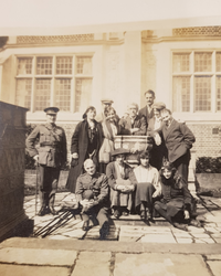 eva mond and family source imperial war museum